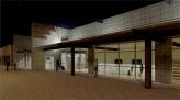 Interfaith Centre - Night Exterior